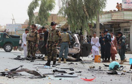 V eksploziji bombe v Afganistanu ubitih devet otrok