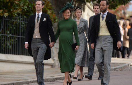 Kate Middleton je prvič postala teta