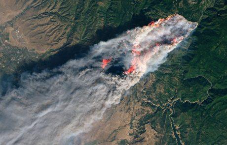 Nov požar v Kaliforniji ogroža predsedniško knjižnico Ronalda Reagana