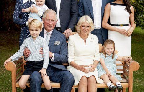 Otroci Kate Middleton in princa Williama so ukradli vso pozornost na novem družinskem portretu