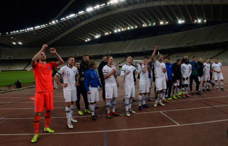 Grški reprezentant pozitiven po tekmah s Slovenijo in Kosovom
