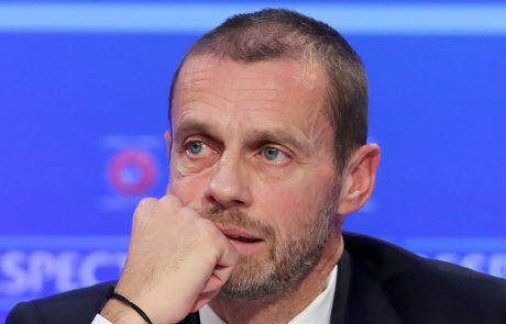 """Čeferin o letu 2020: """"V času stisk ima nogomet moč podpreti in krepiti skupnosti"""""""