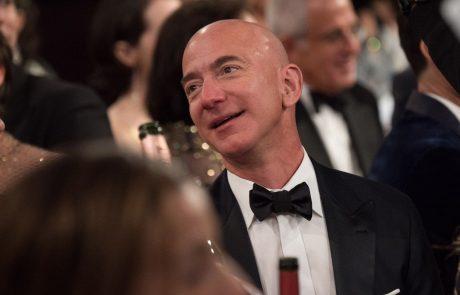 Jeff Bezos podrl nov rekord, njegovo premoženje je preseglo 200 milijard dolarjev
