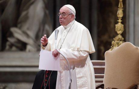 Papež posvaril pred socialno pandemijo: Številne družine so v stiski, lačne in pogosto jih izkoriščajo oderuhi