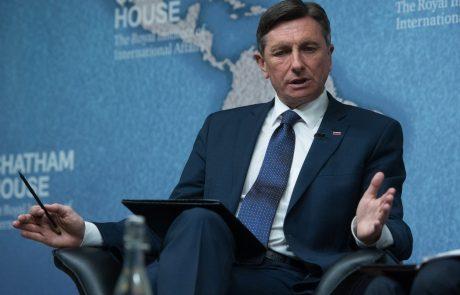 Pahor požugal Hrvaški: Dolžni ste izpolniti zaveze!