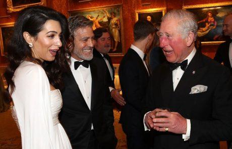 Amal Clooney je popolnoma očarala princa Charlesa!