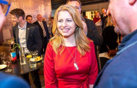 Slovaška dobila prvo predsednico v zgodovini države