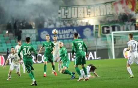 Nogometaši Olimpije in Maribora so se po večnem derbiju razšli z rezultatom neodločeno