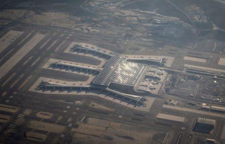 Novo istanbulsko letališče Istanbul Airpot tudi uradno začelo obratovati