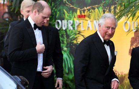 Princ William in Charles sta prišla v hud konflikt