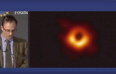 Letošnja Nobelova nagrada za fiziko za odkritja o črni luknji