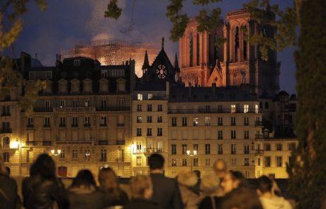 Svet v šoku in solzah zaradi požara v katedrali Notre Dame, francoski milijonar ponudil 100 miljonov za obnovo