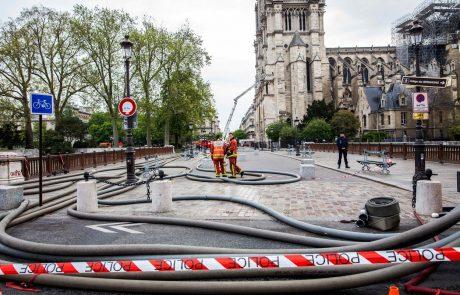 Tožilstvo požar v Notre Dame obravnava kot nesrečo, varnostniki trikrat dnevno preverjali požarno varnost strehe