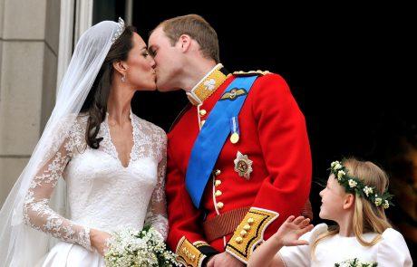 Ste vedeli, da se je poroka Williama in Kate uvrstila v Guinnessovo knjigo rekordov?