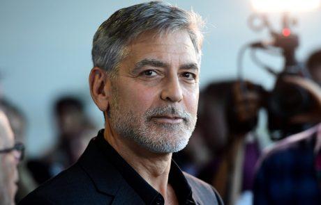 George Clooney je svojim štirinajstim prijateljem, vsakemu od njih, podaril milijon dolarjev