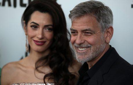 George Clooney priznal: Z Amal sva naredila neumno napako pri vzgoji otrok