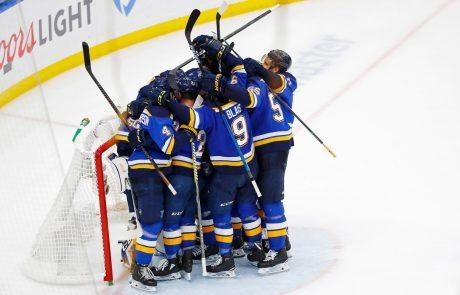 St. Louis prvič po 49 letih v finalu NHL