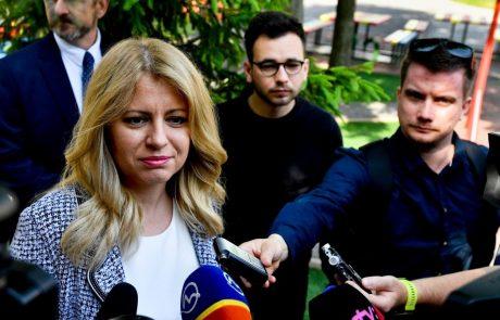 Prisegla prva slovaška predsednica Zuzana Čaputova