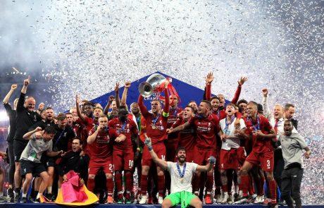 Liverpool šestič evropski prvak