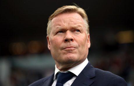 Nizozemec Ronald Koeman sedaj tudi uradno novi trener Barcelone
