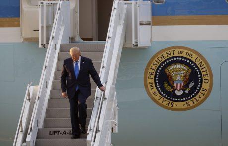 Trump kot prvi ameriški predsednik stopil na severnokorejska tla