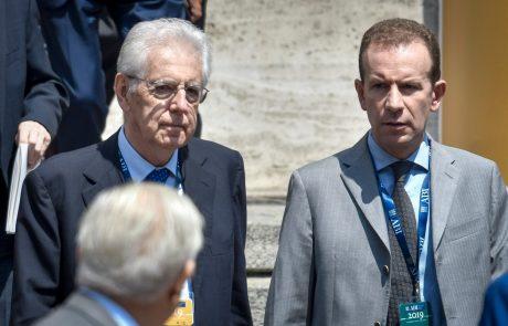 Italijanski predsednik po včerajšnjem odstopu premierja danes že začel posvetovanja, kako naprej
