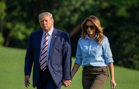 Trump zadnji trenutek odpovedal svojo veliko silvestrsko zabavo na Floridi