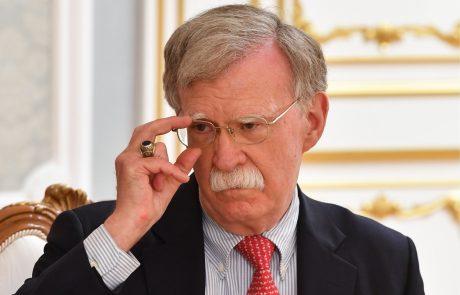 Trump odstavil svojega svetovalca za nacionalno varnost Boltona