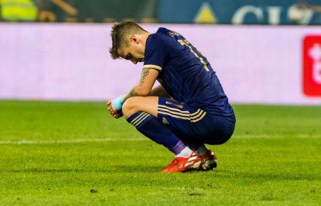 Velik udarec za Maribor: Vijoličasti brez Luke Zahovića
