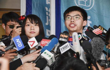 Protestniki v Hongkongu na ulice kljub prepovedi