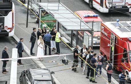 V napadu nedaleč od Lyona ubita najmanj ena oseba, več je ranjenih