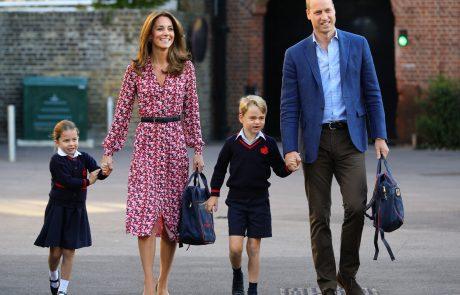 Kate Middleton slučajno razkrila skrivnost o princu Georgeu