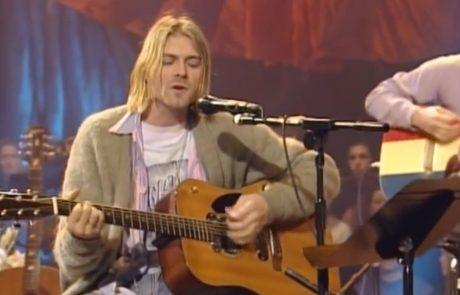 Legendarna, od cigarete ožgana jopa Kurta Cobaina na dražbo