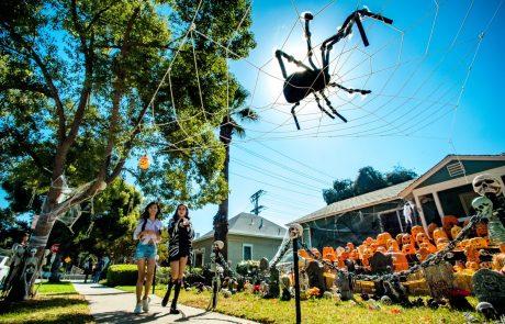 Američani si pa res dajo duška pri okraševanju hiš za Halloween! (Foto)