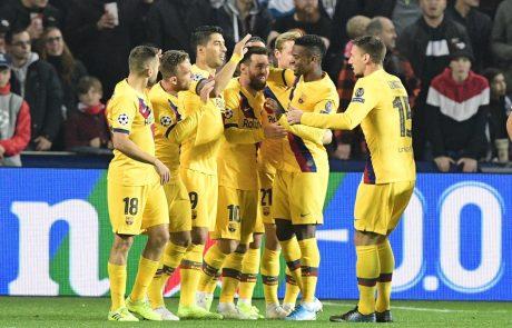 Argentinski nogometni zvezdnik Lionel Messi je sinoči v ligi prvakov postavil še en rekord
