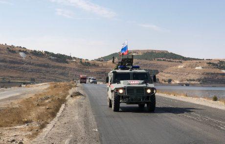 V Sirijo prispelo približno 300 pripadnikov ruske vojaške policije