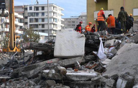 Mednarodna skupnost za pomoč Albaniji po potresu zbrala 1,15 milijarde evrov