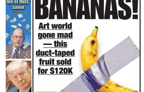 Pojedel 120.000 dolarjev vredno banano