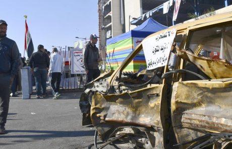 Protestniki v Iraku napadli ameriško veleposlaništvo