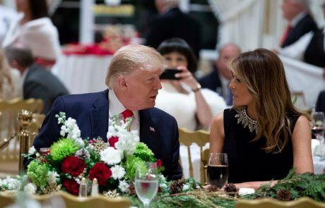 Američani ne morejo verjeti, kaj je Trump Melaniji podaril za Božič