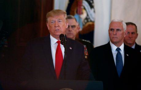 Ameriški predsednik Trump prekinja letalske zveze med ZDA in Evropo