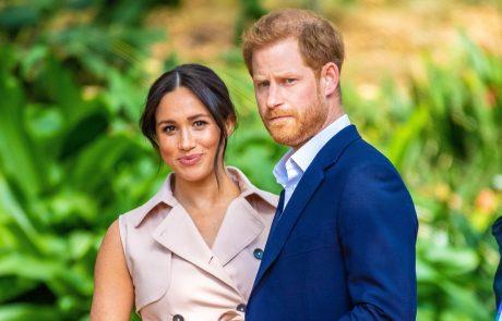 Princ Harry in njegova soproga Meghan Markle sta uradno začela svoji novi hollywoodski karieri