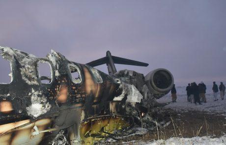 Potrjeno: V Afganistanu strmoglavilo ameriško vojaško letalo