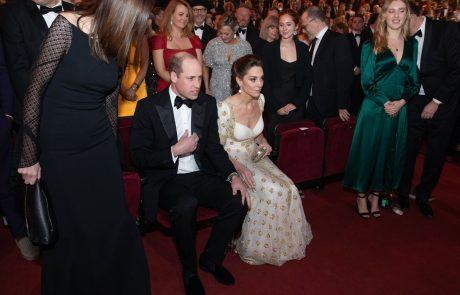 Poglejte Williamov izraz na obrazu, ko se je Margot Robbie pošalila na račun Harryja in Meghan