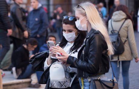 V Avstriji spet visoko število okužb z novim koronavirusom