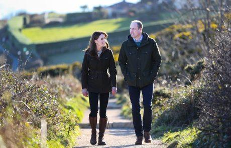 V karanteni: Kate in William objavila fotografije iz svoje razkošne palače