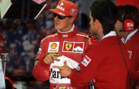 Redki posnetki Michaela Schumacherja kmalu v javnosti