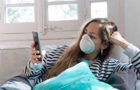 Novi val epidemije povečuje stiske pri ljudeh