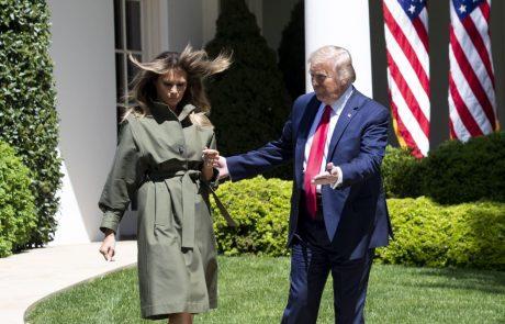 S celega sveta dežujejo državniške pozitivne želje k čim prejšnjemu okrevanju Donalda in Melanie