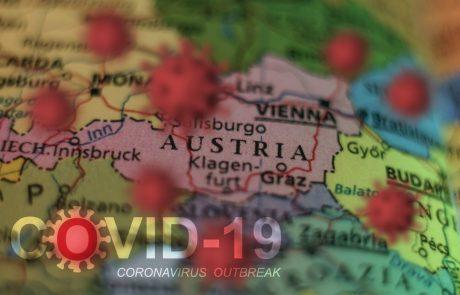 V Avstriji 300 novih okužb, številne uvožene iz Hrvaške